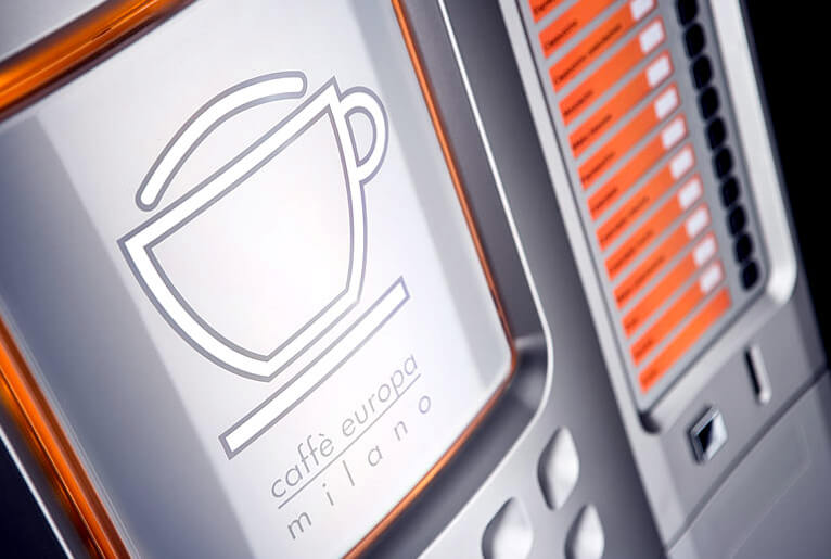 Automat do kawy Caffe Europa