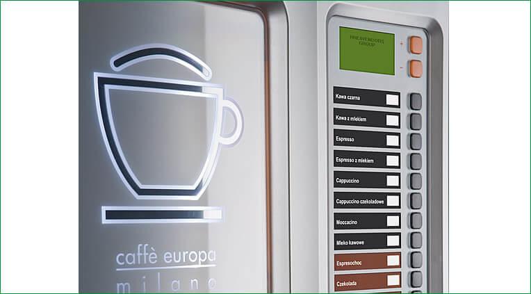 Automat sprzedający Caffe europa 4