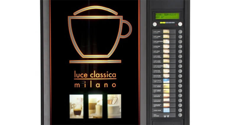 Automat do kawy LUCE ECO 2