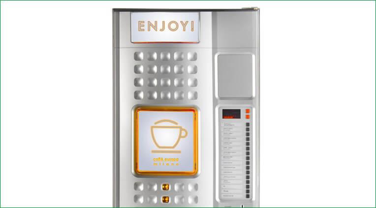 Automat sprzedający Caffe europa 1