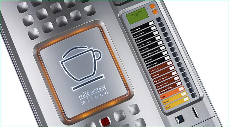Automat sprzedający Caffe europa 3